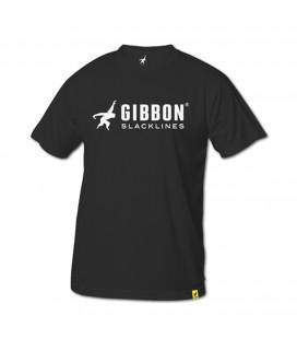 "Gibbon ""Logo"" Negro - Gibbon Slacklines"