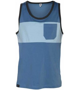 Two-colored Pocket Tank Top - Snap Climbing