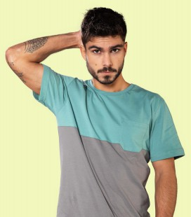 Two-colored Pocket T-Shirt - Snap Climbing