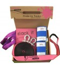 Freak Flash'line Pink Set 25 m - Elephant Slacklines